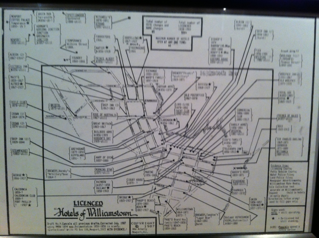 Williamstown Pub Map