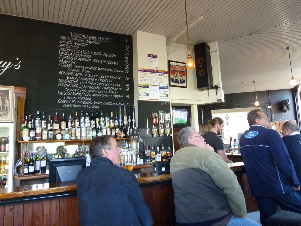 Enjoy the footy at the local